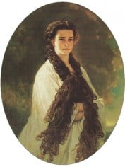 "Empress Elisabeth of Austria, an 18th century ""style icon"" notorious for her eating disorder."