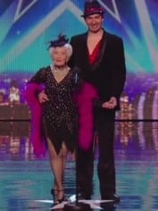 Britains Got Talent dancing granny