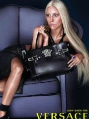 Lady Gaga versace no photoshop