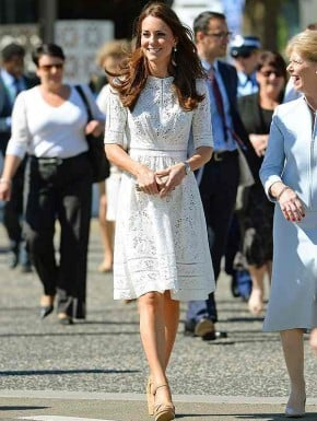 Kate Middleton Australia wardrobe