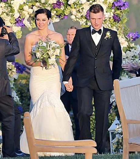 Nick Carter married