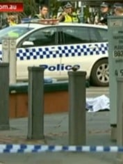 Melbourne woman stabbed