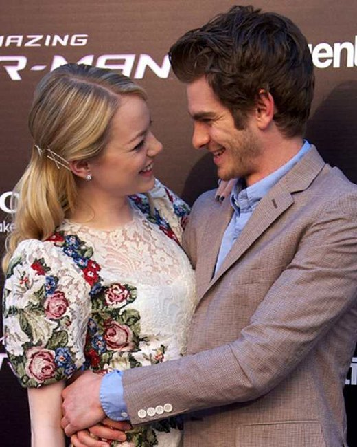 Emma Stone Andrew Garfield interview