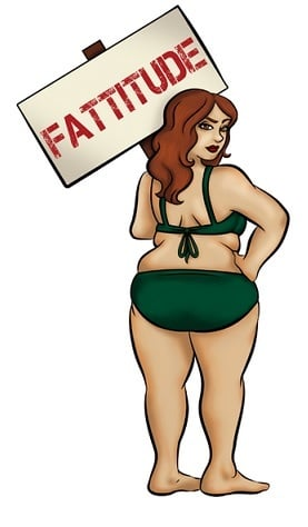 stereotypes about fat people