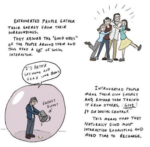 introvert2 Why every introvert needs a Hamster Wheel of Personal Space. This is truly brilliant.