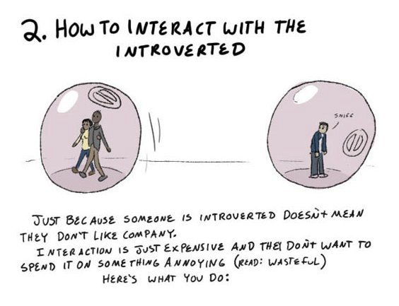 introvert4 Why every introvert needs a Hamster Wheel of Personal Space. This is truly brilliant.
