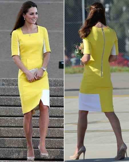 Kate Middleton Australia wardrobe