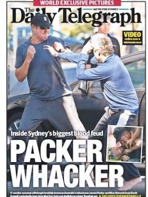 The Packer/ Gyngell brawl is making headlines