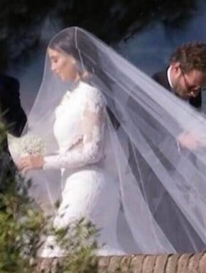 Kim Kardashian Kanye West wedding 3