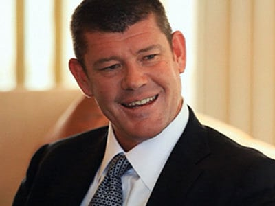 James Packer punch up