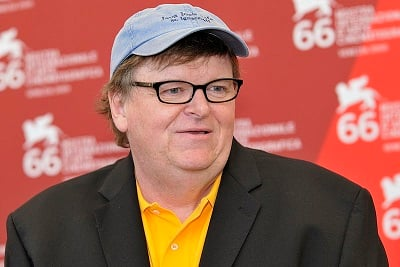 "michael moore ""I no longer have anything to say about what is now part of normal American life."""