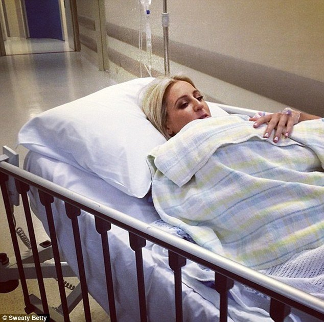 roxy jacenko gives birth
