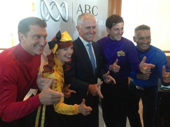 Malcolm with the wiggles 2