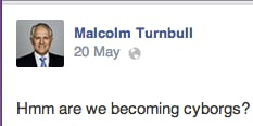 reasons to love Malcolm Turnbull