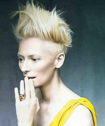Tilda Swinton GQ woman of the year