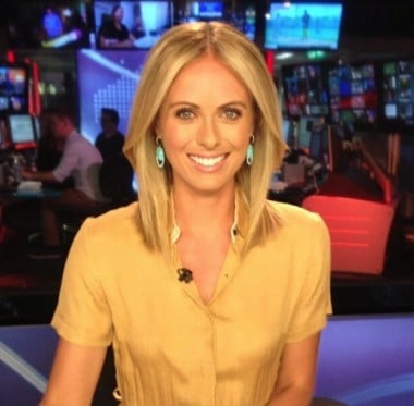 channel 9 news today. new today news presenter channel 9 d