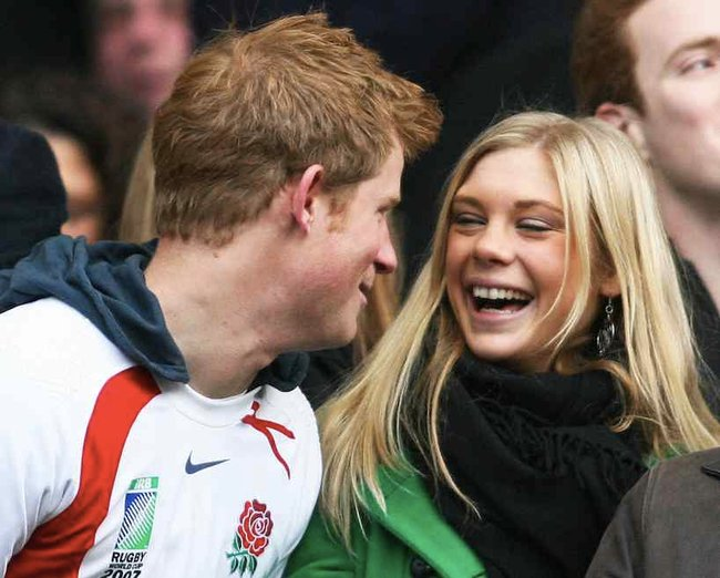 Chelsy Davy, another of Prince Harry's girlfriends who turned down the princess offer.
