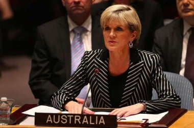 Julie Bishop at the UN