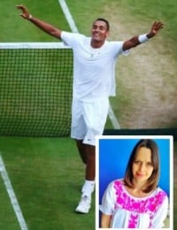 Mia Freedman and Nick Kyrgios