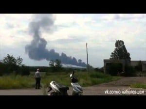 Video thumbnail for youtube video BREAKING: Malaysia Airlines plane shot down over Ukraine. All 295 on board confirmed dead.