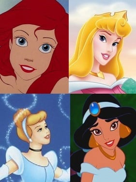 disney princesses domestic violence