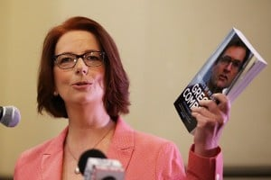 Former Prime MInister Julia Gillard the most popular role model.