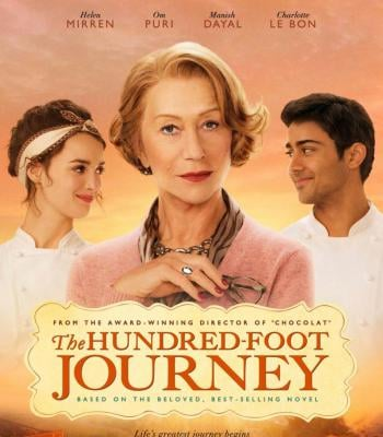 100 foot journey If youre after a feel good film, this is the movie to see this weekend.