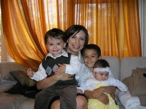 Jo and kids