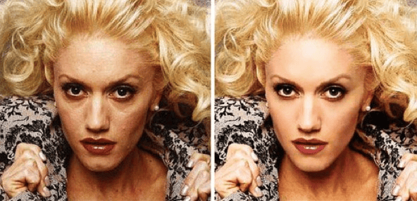 celebrities without photoshop