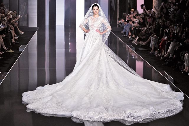 The wedding dress that took 3,900 hours to make