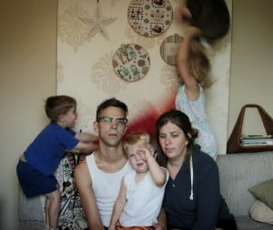 funny family photo fails