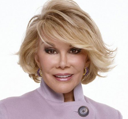 Joan Rivers Hair Styles Concerning News Has Risen About Joan Rivers' Cause Of Death.