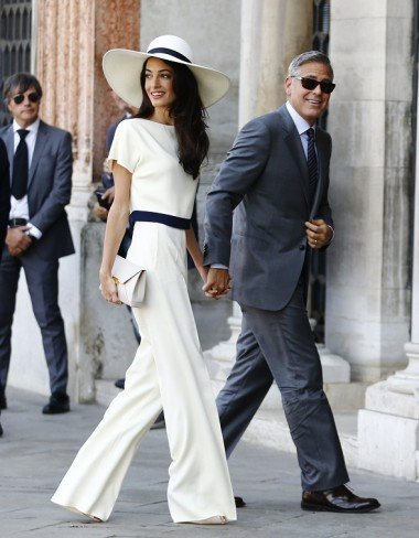 Every Single One Of Amal Alamuddin Wedding Outfits Right Here