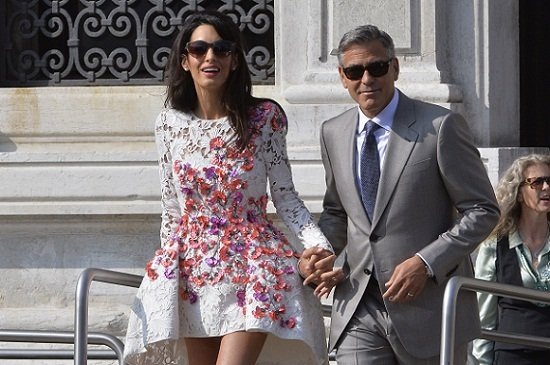 george clooney and amal wedding