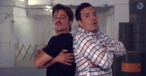 brad pitt jimmy fallon