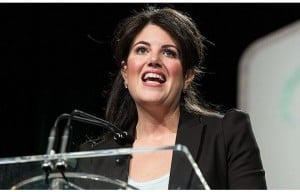 Monica Lewinsky says she loved Bill Clinton.