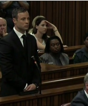 Reaction to the sentence for Oscar Pistorius.