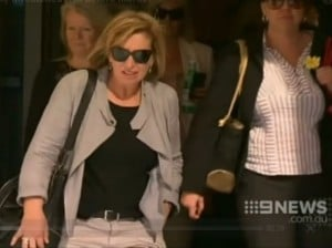 Rosie Batty. (Screenshot: via Channel 9)