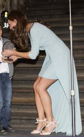 Kate Middleton leg