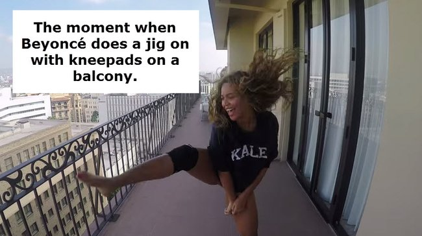 Beyonce 7/11 video clip