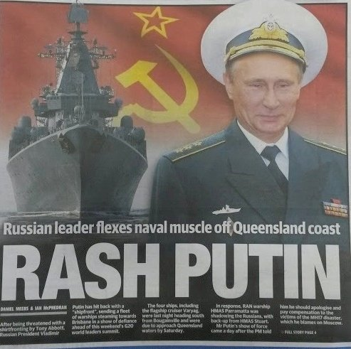 Russian ships in Australian waters