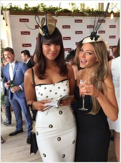 Derby Day Bachelorettes Chantelle and Sam