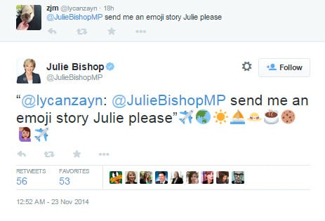 Julie Bishop emoji 3