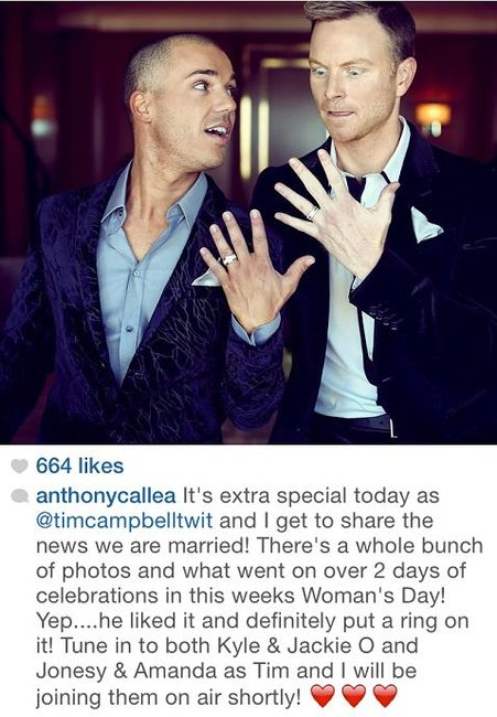 Tim Campbell Anthony Callea