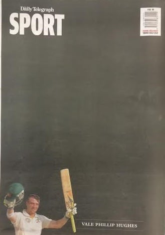 daily telegraph phillip hughes