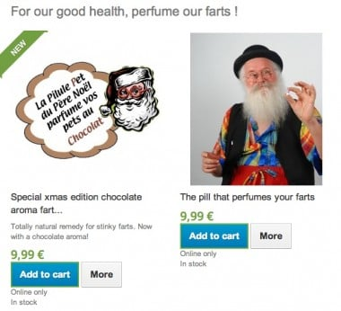 Chocolate scented farts anyone?
