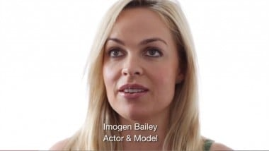 Imogen Bailey features in the campaign.