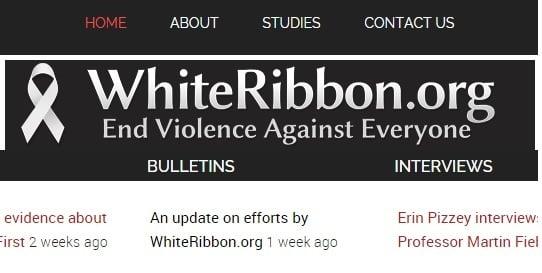 The WhiteRibbon.Org website.