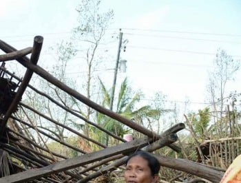 Typhoon Hagupit: Women will carry the real cost of humanitarian crisis.