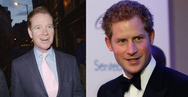 james hewitt father prince harry